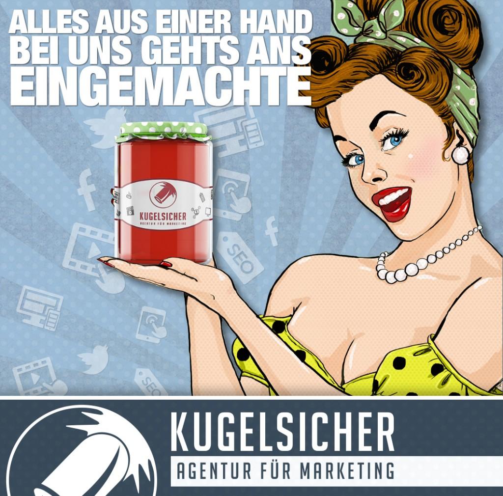 Kugelsicher – Marketing