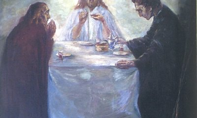 EmilNolde-ChristuszuEmmaus-NoldeStiftungSeebüll